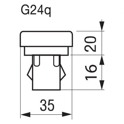 G24Q Sockel