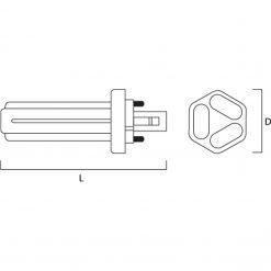 GX24D-2 Sockel