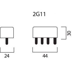 Sockel 2G11
