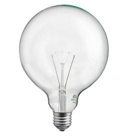 Globlampa Klar 95mm 25W E27