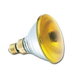 PAR38 240V 80W Yellow E27