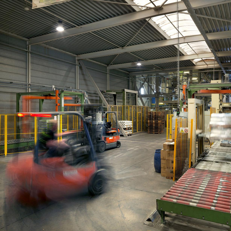 Lager, industri och logistik