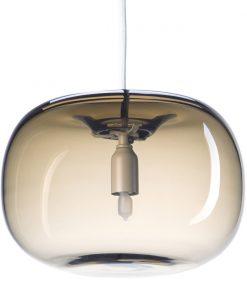 Örsjö PEBBLE Knubbig Varmgrå Glas