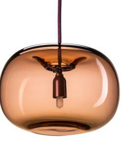 Örsjö PEBBLE Knubbig Oxblod Glas