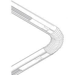 Concord Lytespan 1 LP Flexibel koppling vit