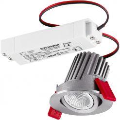 Lumiance Instar Eco Kit LED Adjustable 2700K Dim Borstad Aluminium