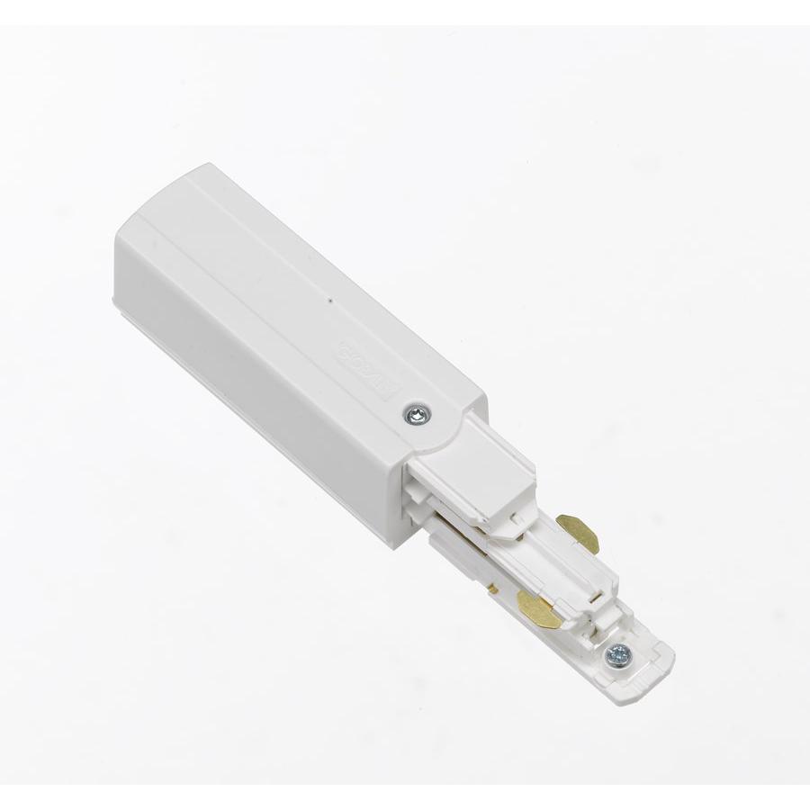 Global Trac Pulse XTSC611-3 Ändstycke med matning Vit