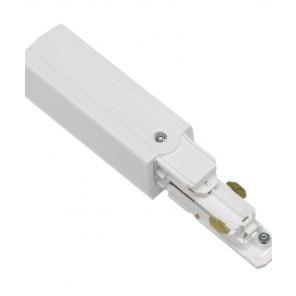 Global Trac Pulse XTSC612-3 Ändstycke med matning Vit