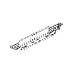 Global Trac Pulse XTSC614-2 Skarv med matning Rak Svart