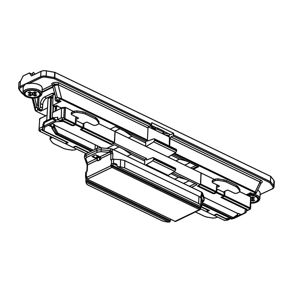 Global Trac Pulse XTSC621-2 Skarv Rak Svart Ritning