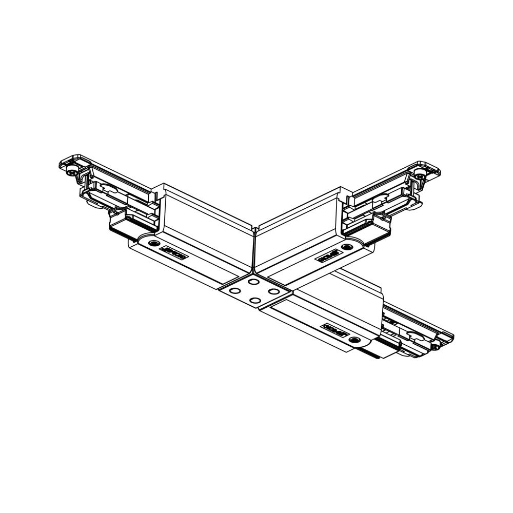 Global Trac Pulse XTSC636-2 T-skarv Svart Ritning