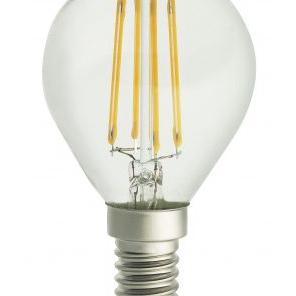 UNI-LEDISON Klot Klar Dimbar 2200K 4W 350lm E14