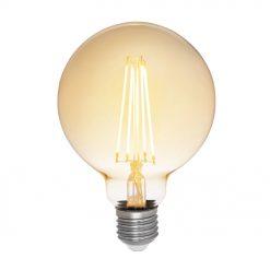 Airam Globlampa Decor Amber 380lm 5W 2200K Dim E27