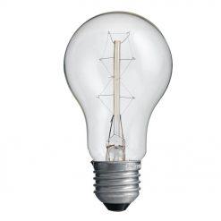 Koltrådslampa Klar 60W E27
