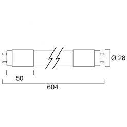 "Toledo T8 UV-A 24"" 4.0W 370nm 230V PA"