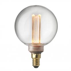 Unison UNI-K Globlampa 80 Klar Dimbar 2000K 70lm 2,3W E14