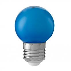 Klotlampa Färgade Blå 0,8W E27