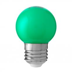 Klotlampa Färgade Grön 0,8W E27