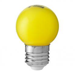 Klotlampa Färgade Gul 0,8W E27
